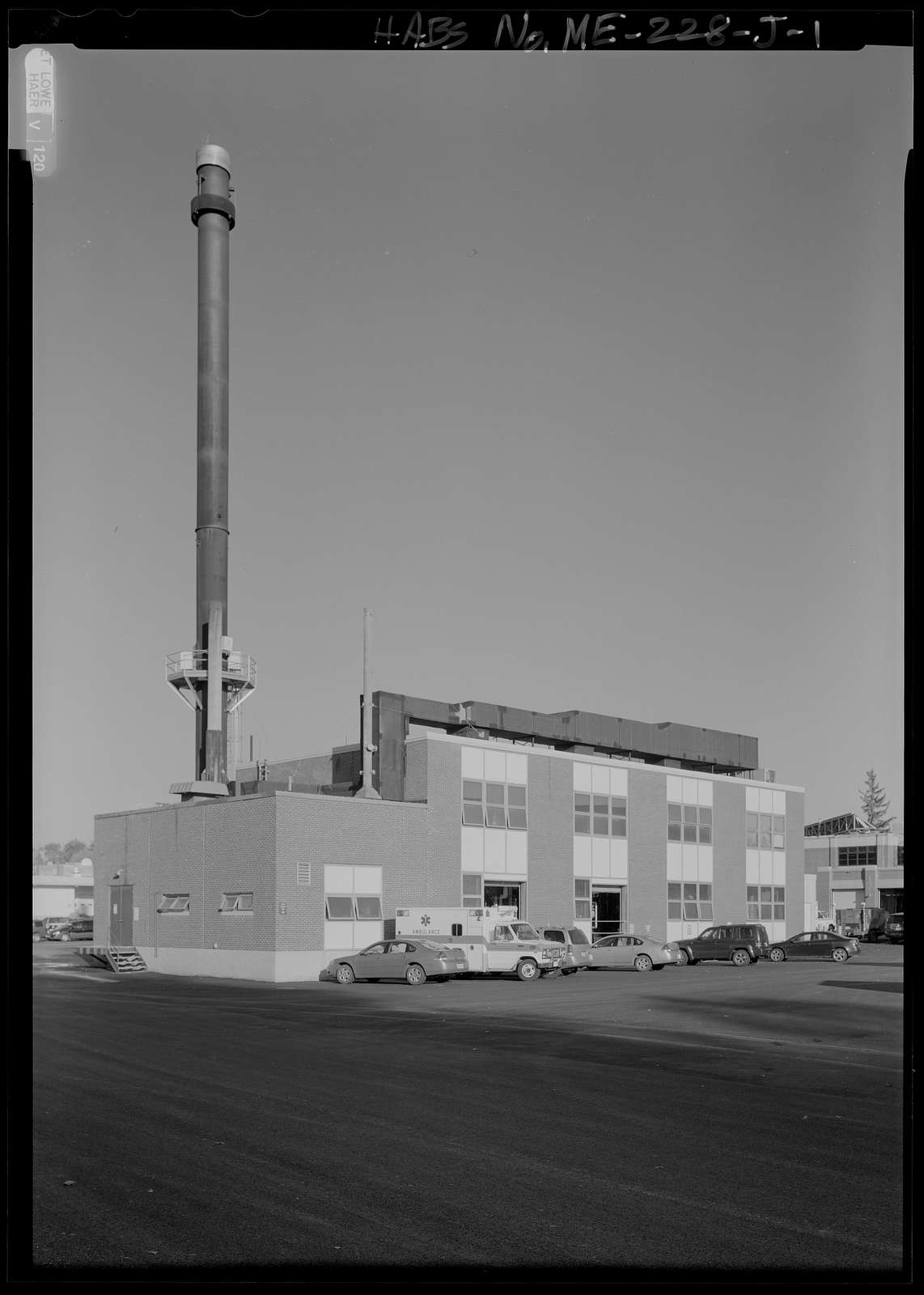 National Home for Disabled Volunteer Soldiers, Eastern Branch, Boiler Plant, 1 VA Center, Augusta, Kennebec County, ME