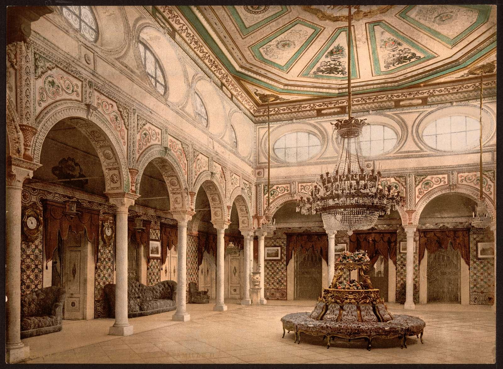 [Private drawing room, II, Kasr-el-Said, Tunisia]