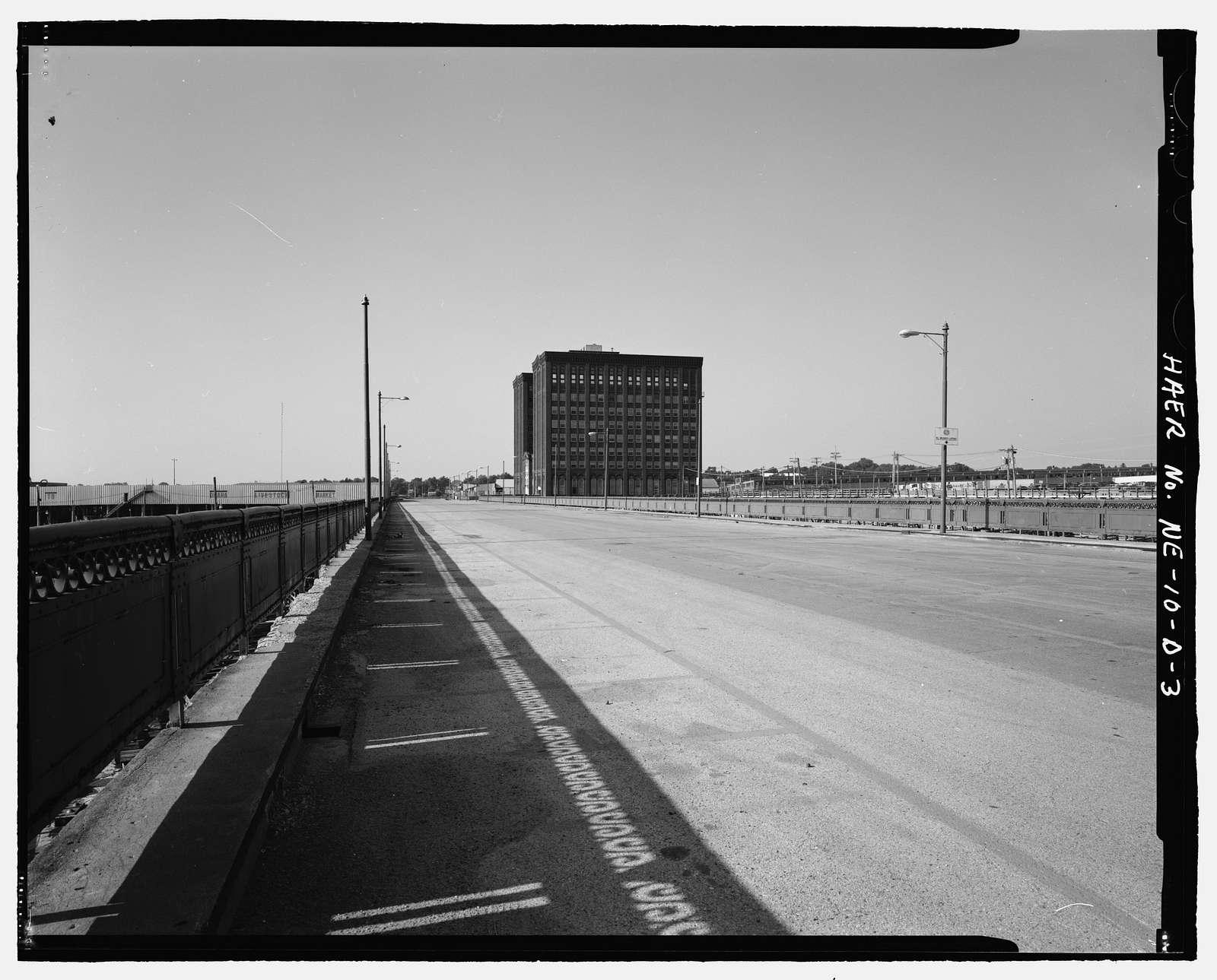 South Omaha Union Stock Yards, Buckingham Road Viaduct, Twenty-ninth Street spanning Stockyard Cattle Pens, Omaha, Douglas County, NE