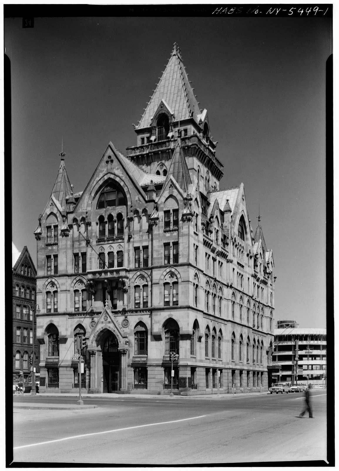 Syracuse Savings Bank, 102 North Salina Street, Syracuse, Onondaga County, NY