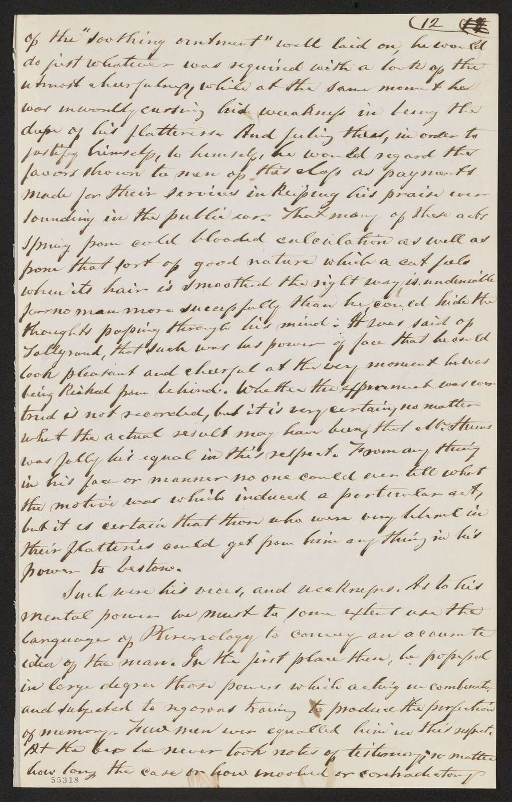 Thaddeus Stevens Papers: Miscellany, 1811-1927; Biographical sketches; Stevens, Thaddeus, sketches and reminiscences, circa 1868-1927, undated