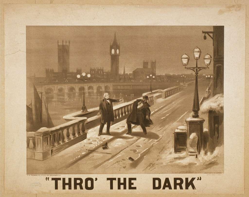 Thro' the dark