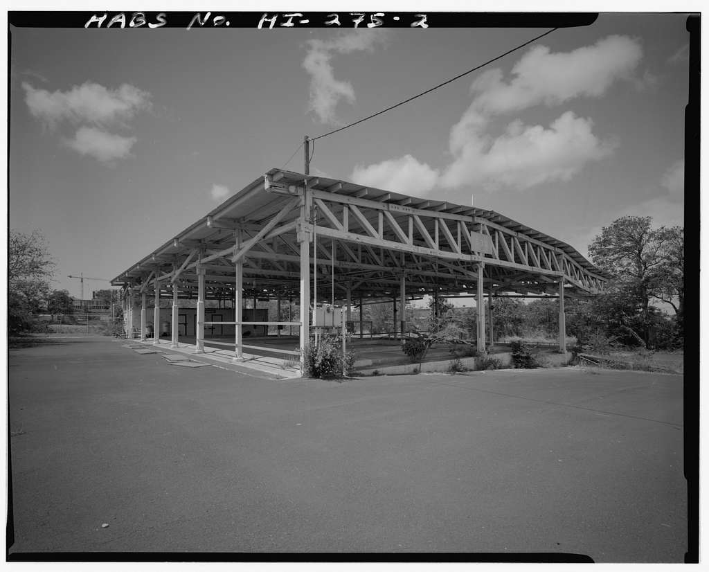 U.S. Naval Base, Pearl Harbor, Drum & Can Loading Facility, South of Arizona Street near Kamehameha Highway, Pearl City, Honolulu County, HI