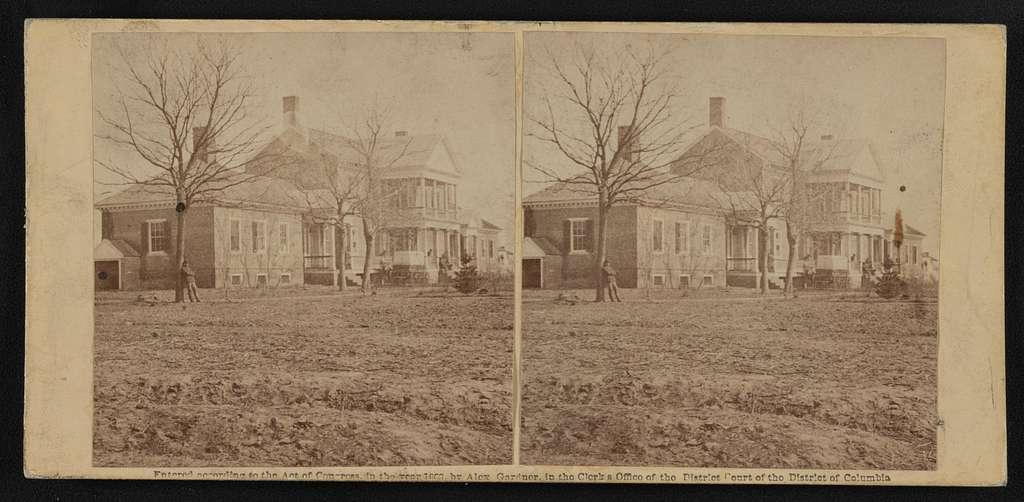 Lacy house, Falmouth, Va., March, 1863