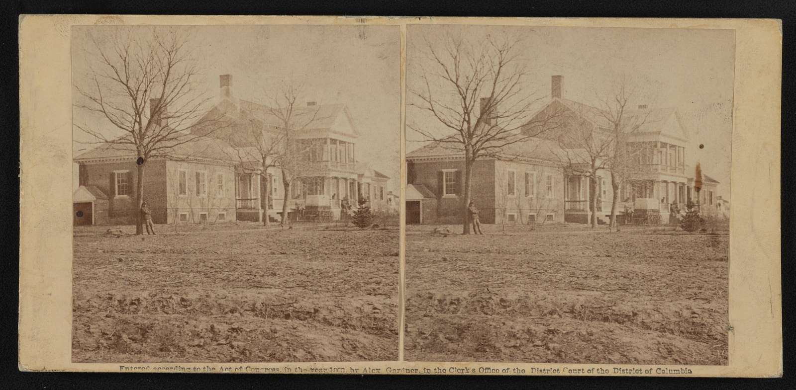 Lacy house, Falmouth, Va., March, 1863