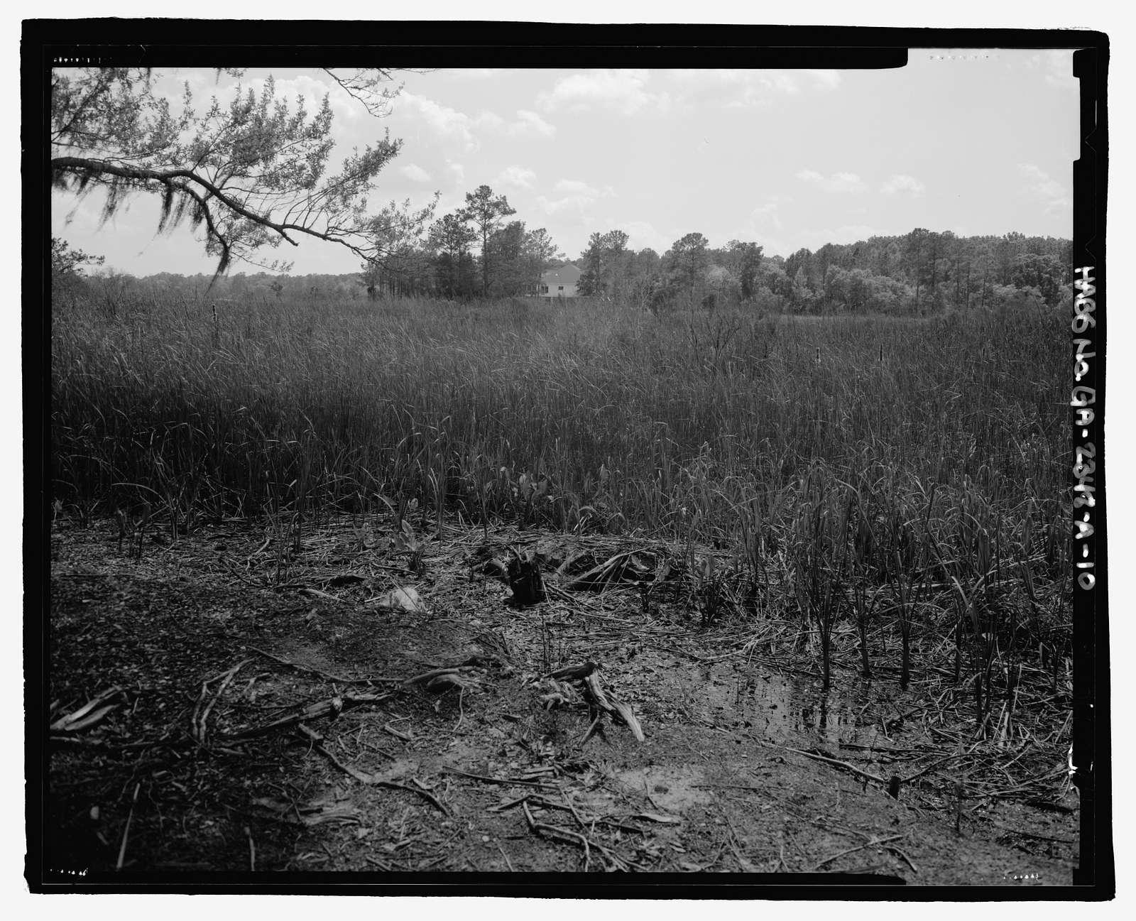 Richmond Hill Plantation, Sterling Creek Marsh, East of Richmond Hill on Ford Neck Road, Richmond Hill, Bryan County, GA