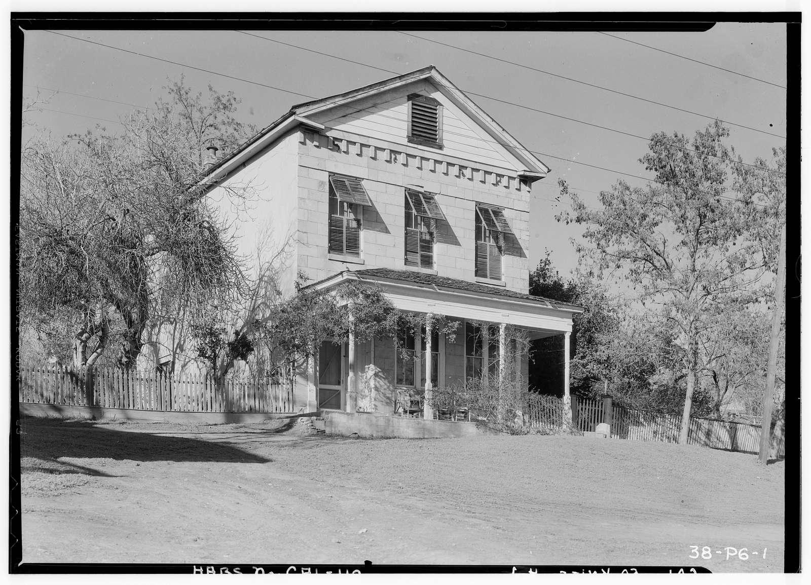 Schell House, Knights Ferry, Stanislaus County, CA