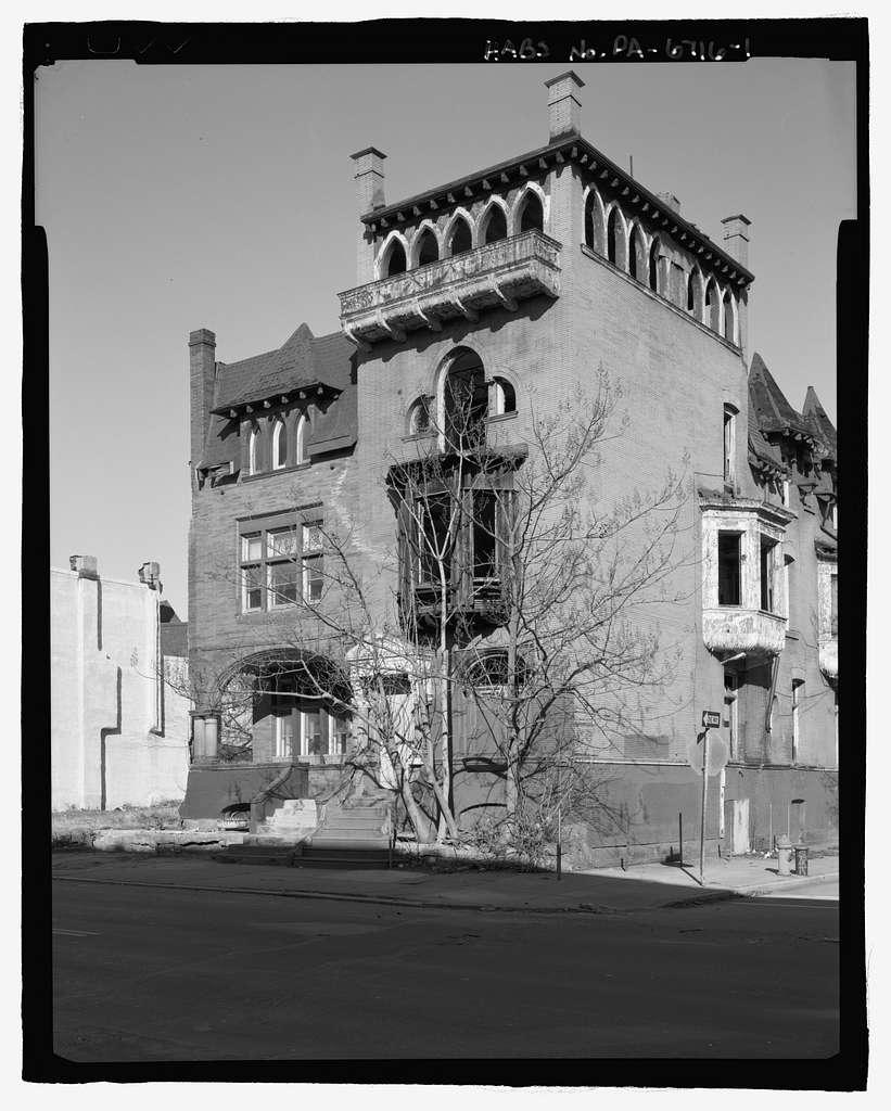 1900 Block Diamond Street (Houses), Northwest corner of Diamond & Uber Streets, Philadelphia, Philadelphia County, PA