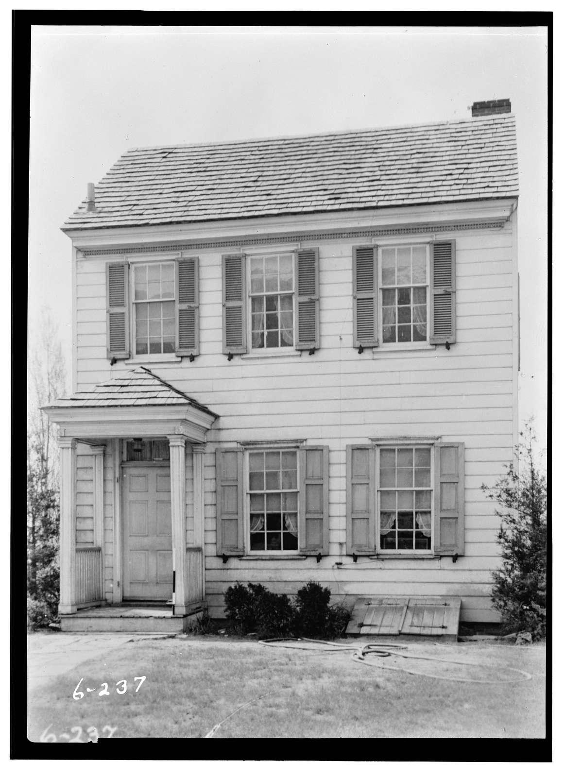 Bright-Douglass House, Mahlon Stacy Park, Trenton, Mercer County, NJ