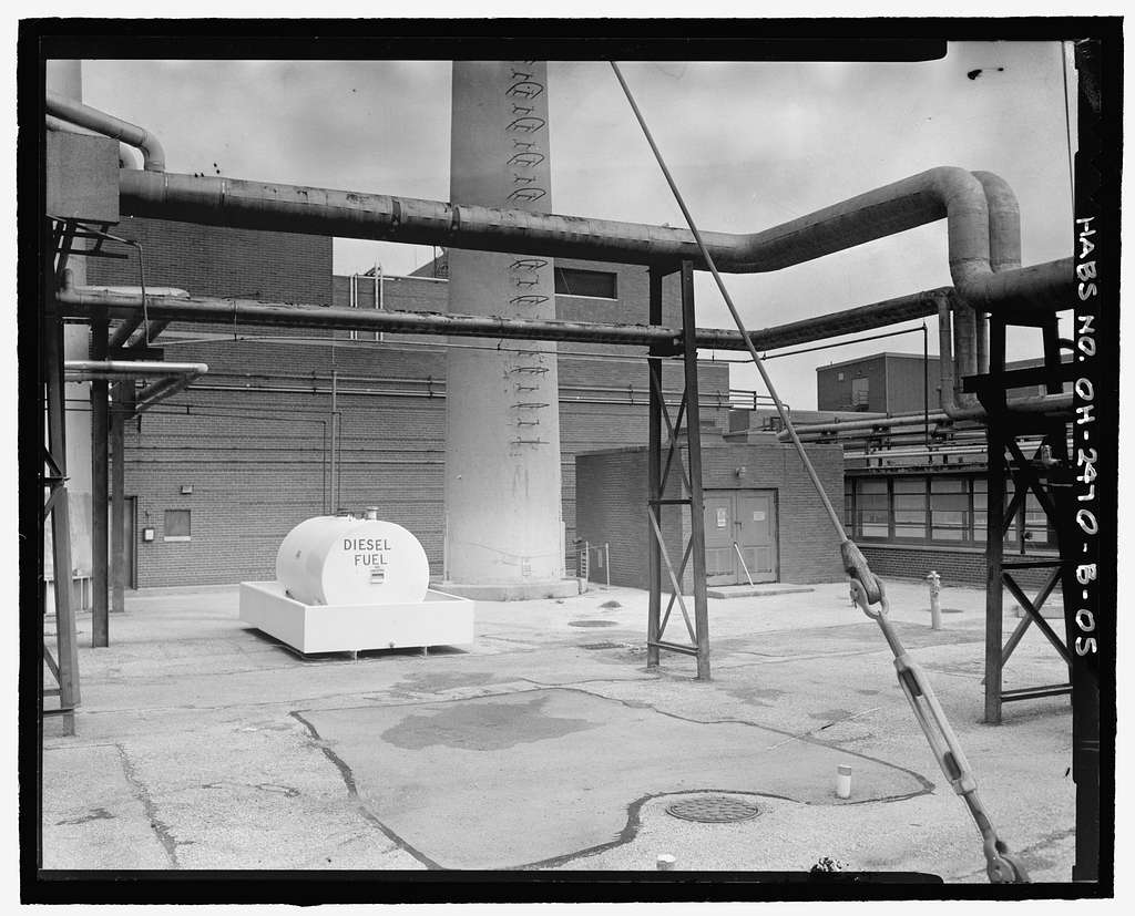 Department of Energy, Mound Facility, B Building, One ...