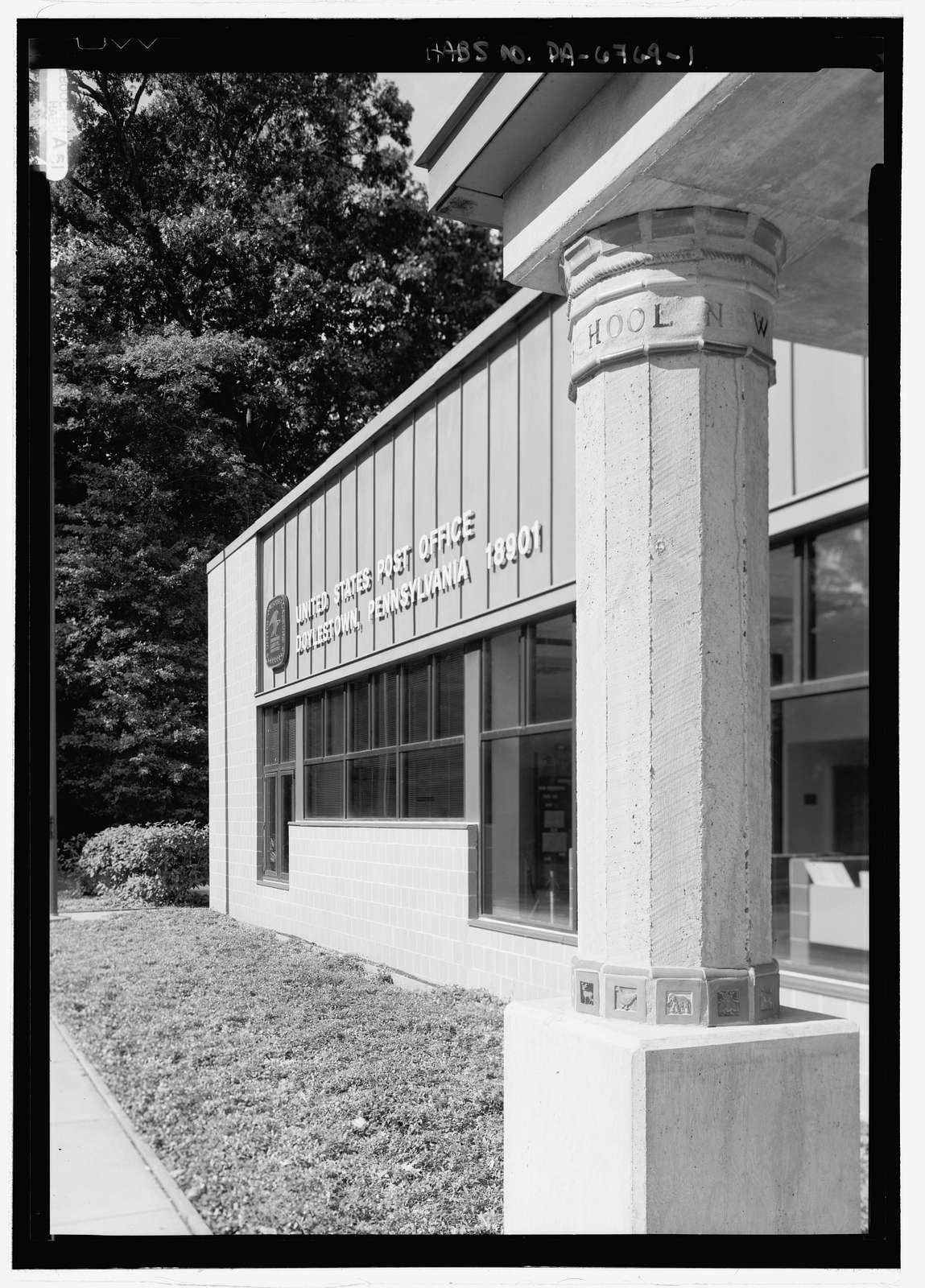Doylestown Post Office, Doylestown, Bucks County, PA