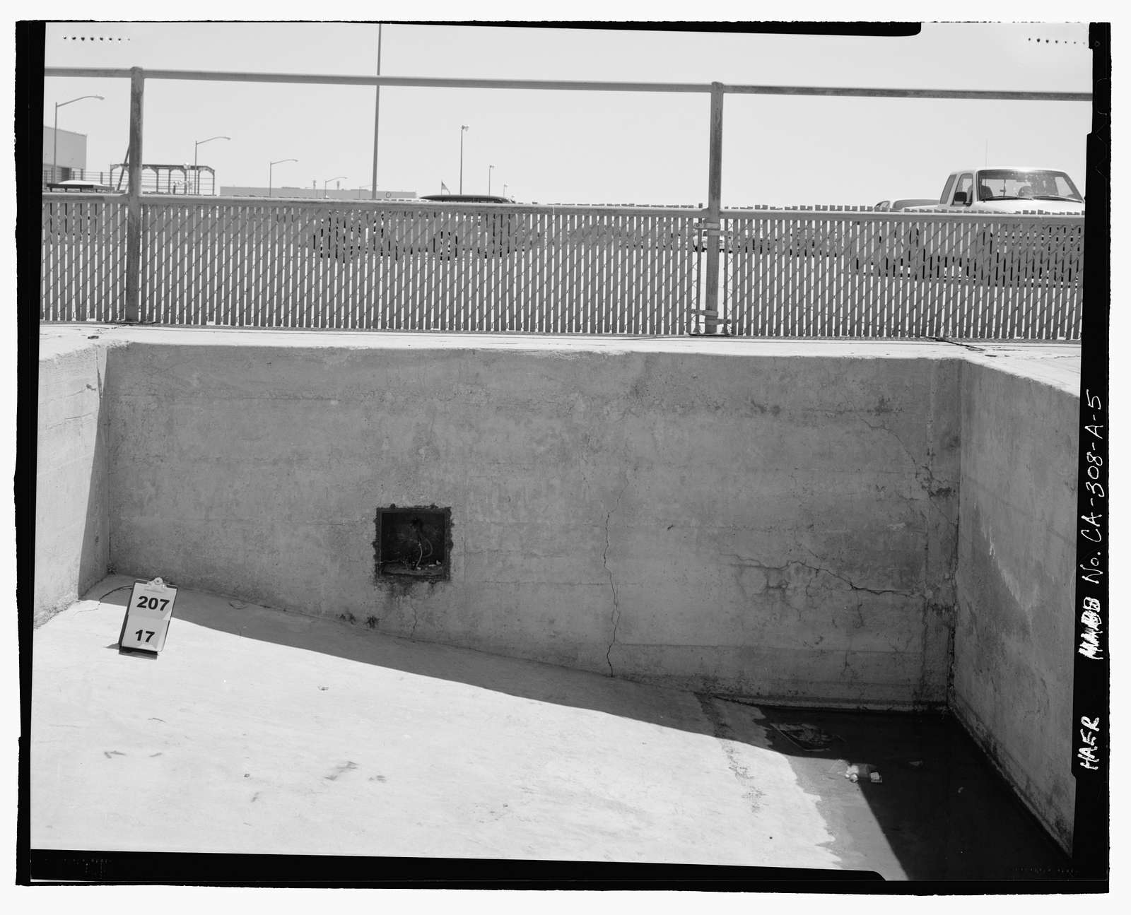 Edwards Air Force Base, South Base, X-1 Loading Pit, Western Shore of Rogers Dry Lake, Boron, Kern County, CA
