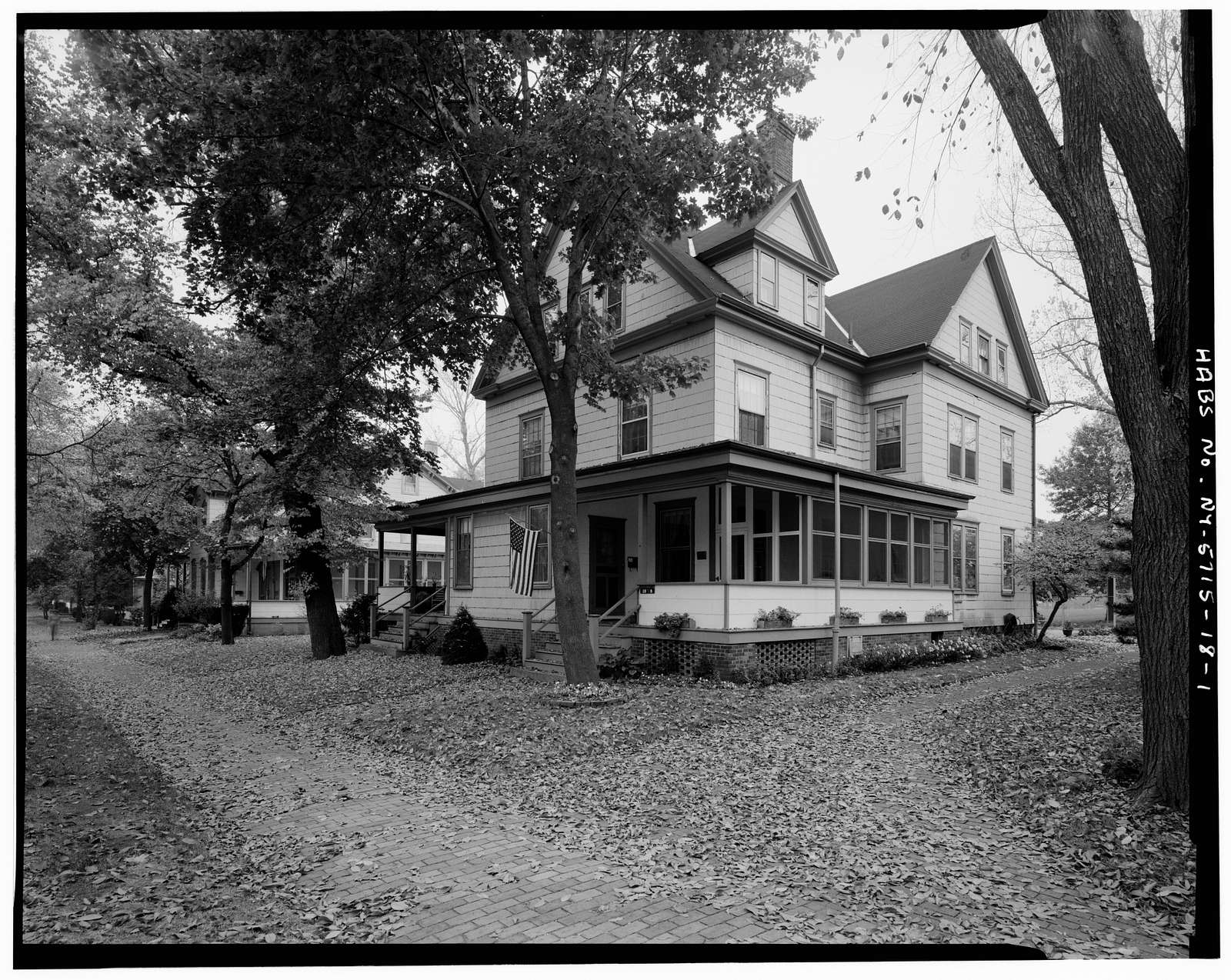 Governors Island, Quarters No. 20, New York Harbor, Nolan Park, New York, New York County, NY