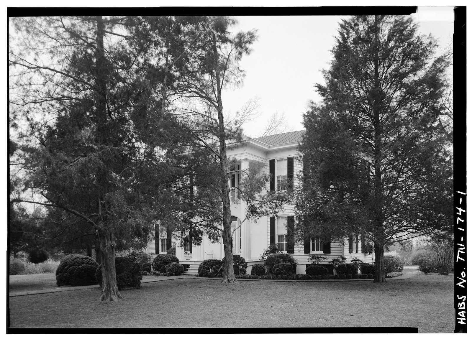 Hancock Hall, Third Street (Highway 57), La Grange, Fayette County, TN