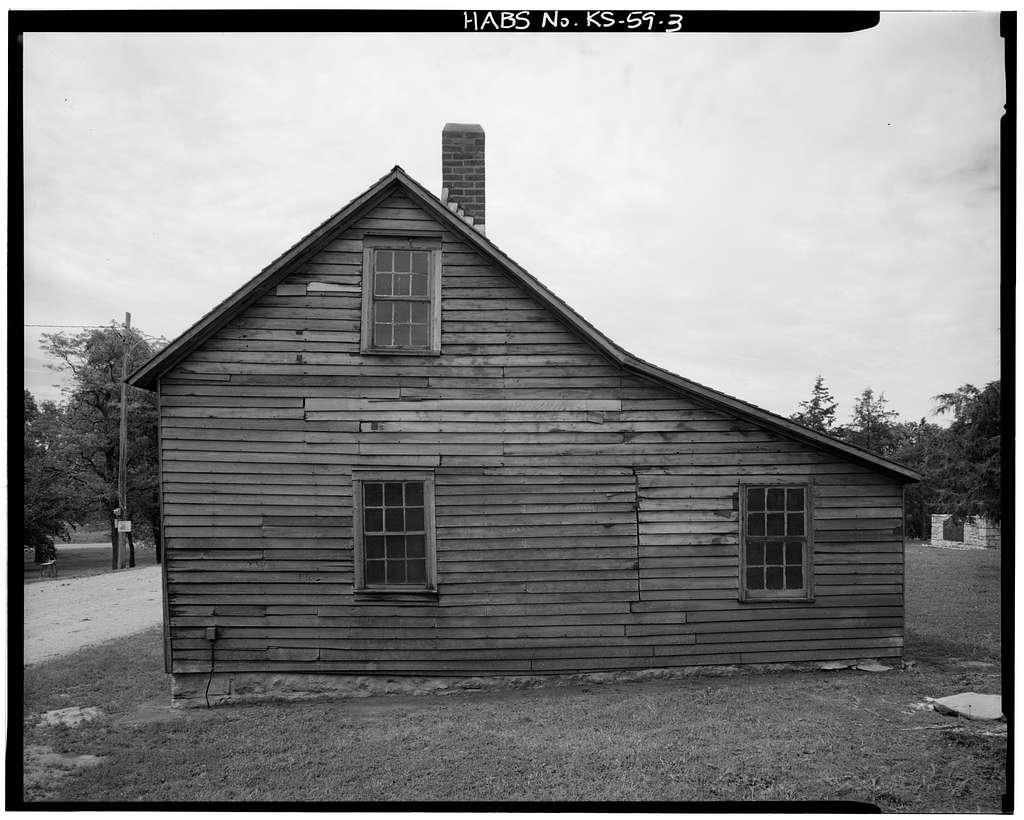 Hollenberg Pony Express Station, Route 243, 6.9 miles south of Nebraska border, Hanover, Washington County, KS