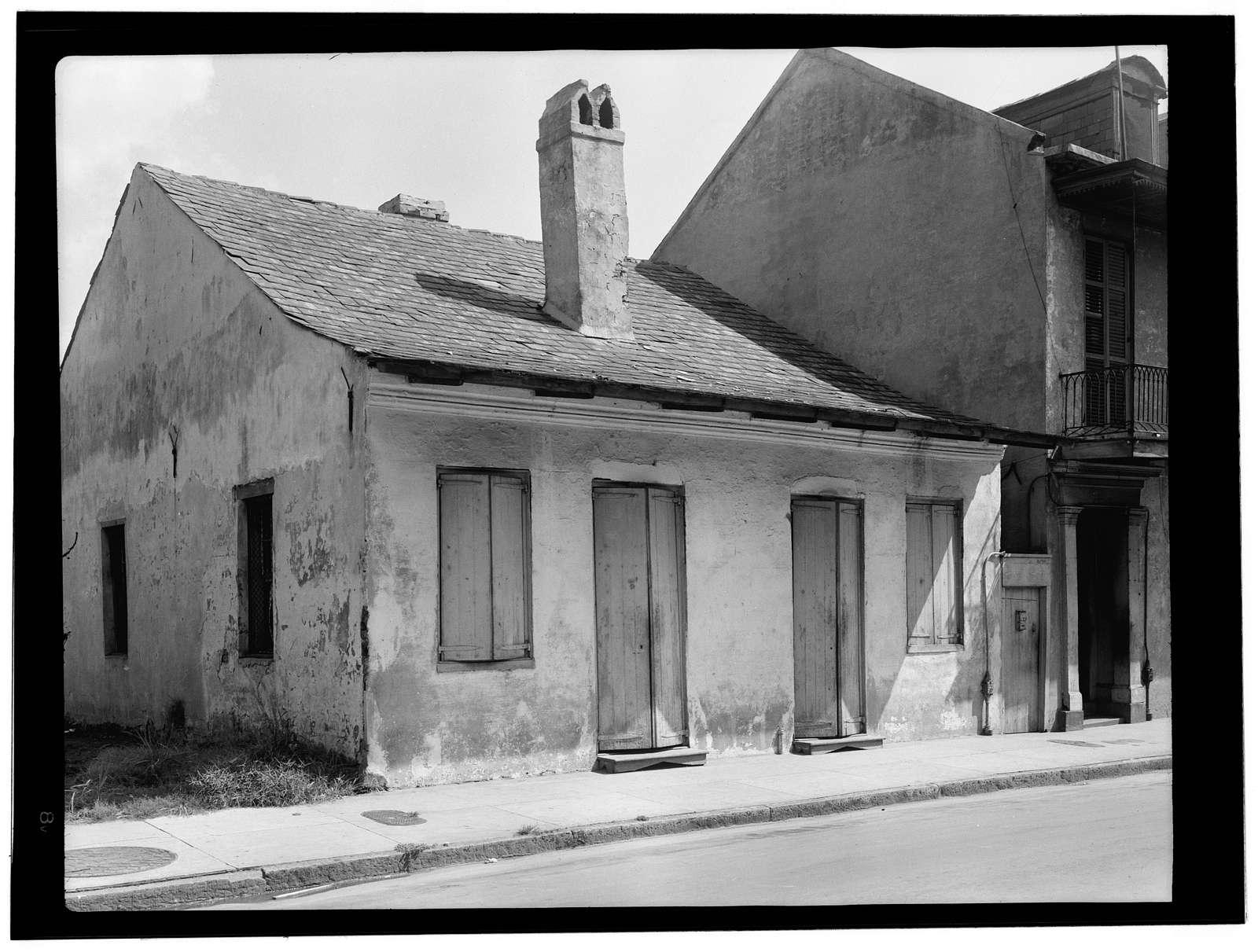 LaRionda Cottage, 1218-1220 Burgundy Street, New Orleans, Orleans Parish, LA