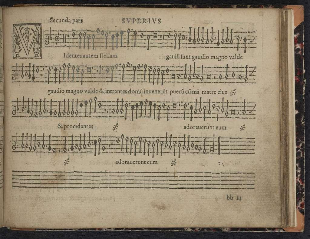 Liber primvs Cantionvm sacrarvm, vvlgo moteta vocant, quinque [et sex] vocum ex optimis quibusq[ue] musicis selectarum