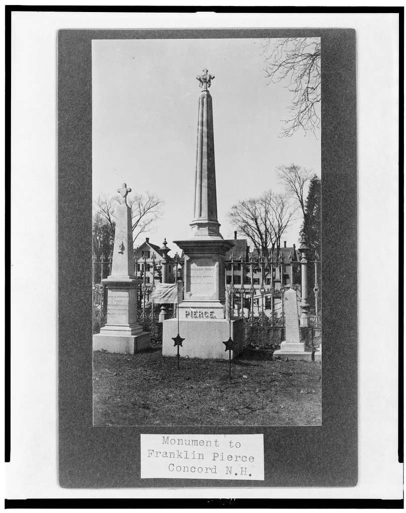 Monument to Franklin Pierce, Concord N.H.