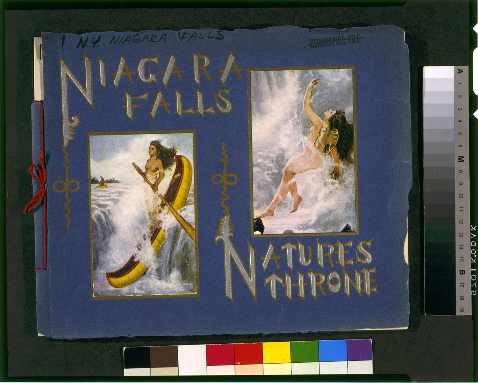 Niagara Falls nature's throne