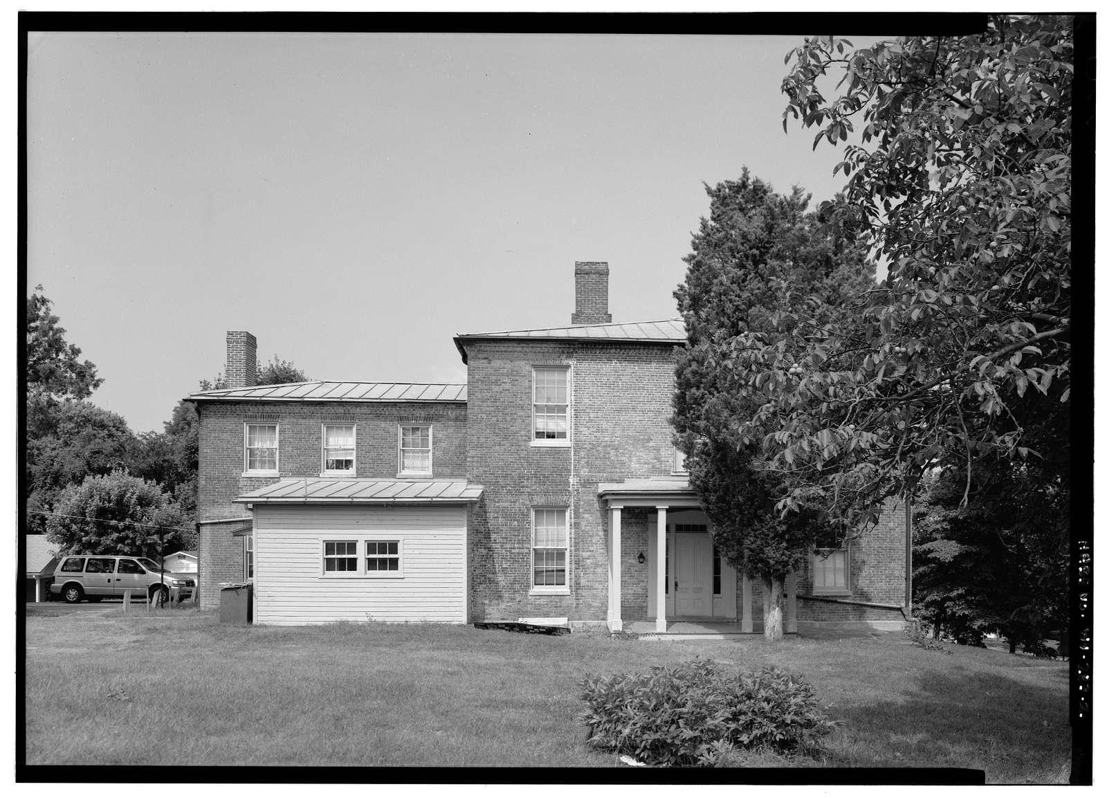 Reverend Nathan Bracket House, Fillmore Street, Harpers Ferry, Jefferson County, WV