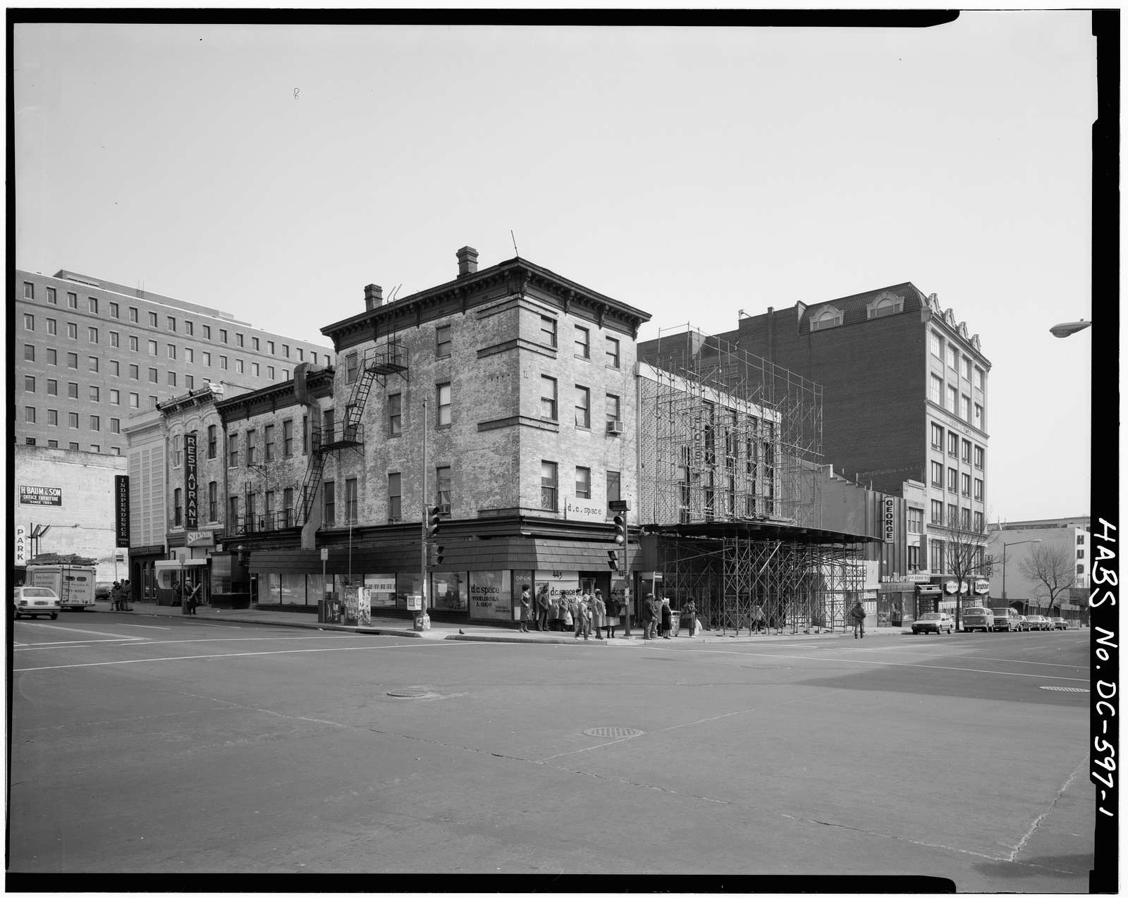Square 457 (Commercial Buildings), D, E, Sixth, & Seventh Streets, Northwest, Washington, District of Columbia, DC