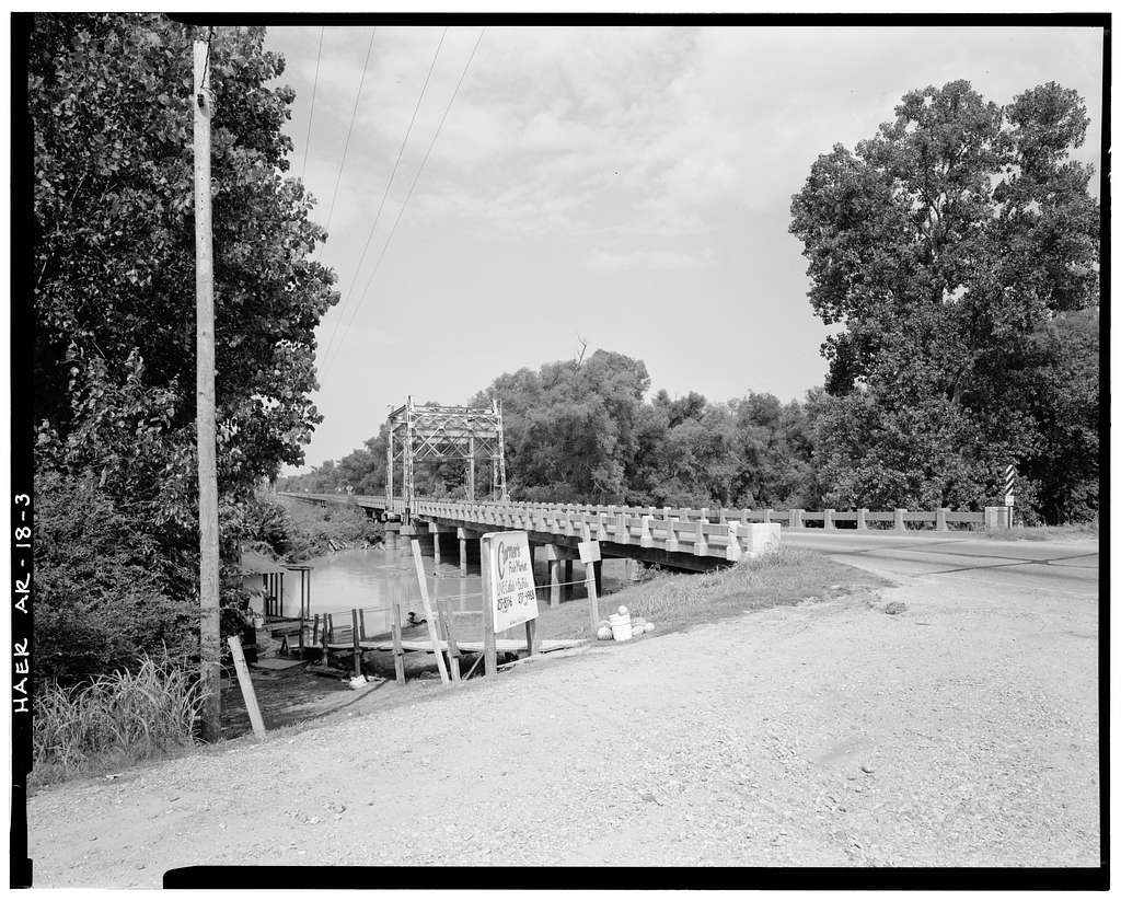 St. Francis River Bridge, Spanning St. Francis River at State Highway 18, Lake City, Craighead County, AR