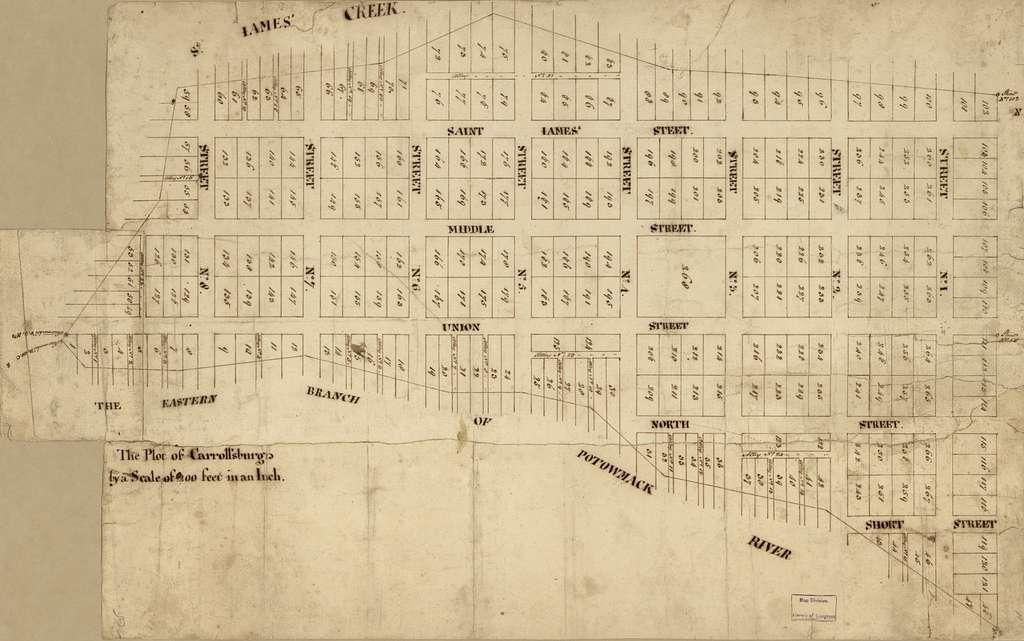 The plot of Carroll'sburgh : [part of Washington D.C.].
