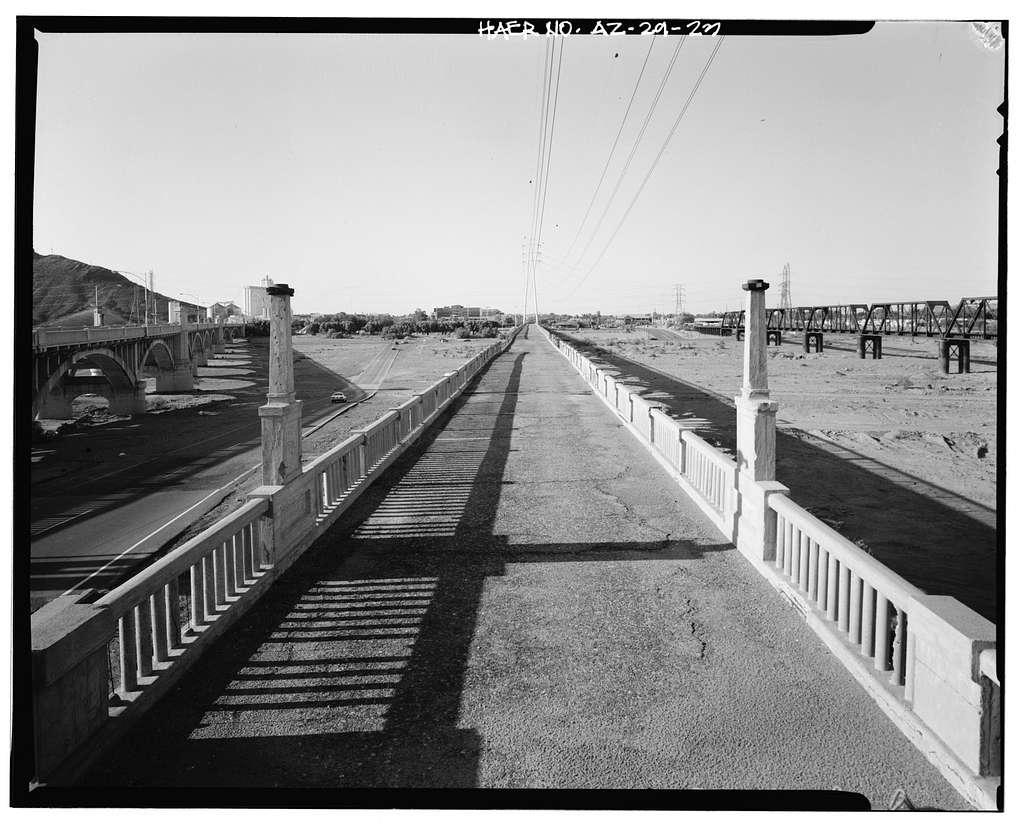 Ash Avenue Bridge, Spanning Salt River at Foot of Ash Avenue, Tempe, Maricopa County, AZ