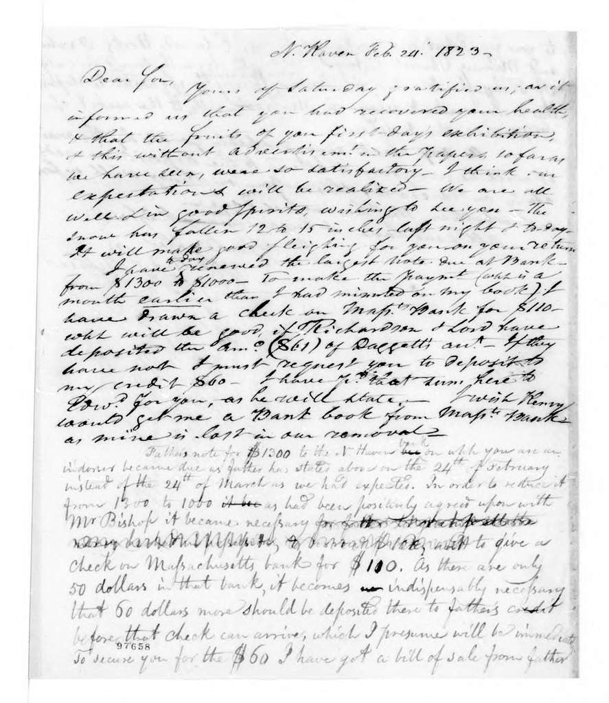Bound volume---24 January 1821-8 December 1823