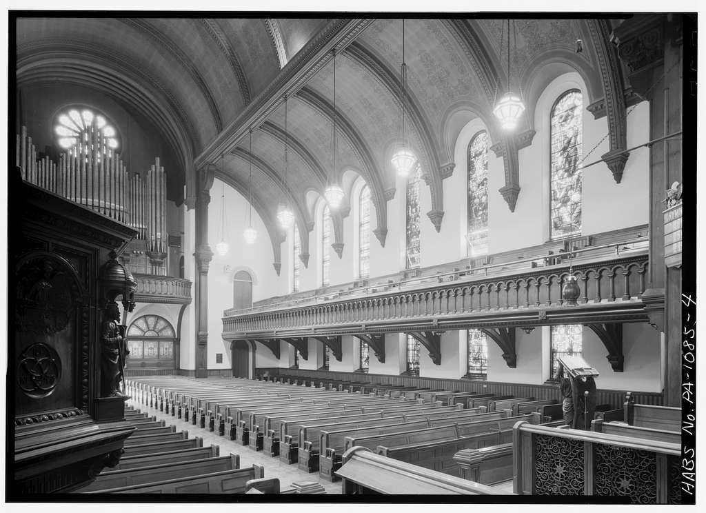 Church of the Holy Trinity (Protestant Episcopal), 200 South Nineteenth Street, Philadelphia, Philadelphia County, PA