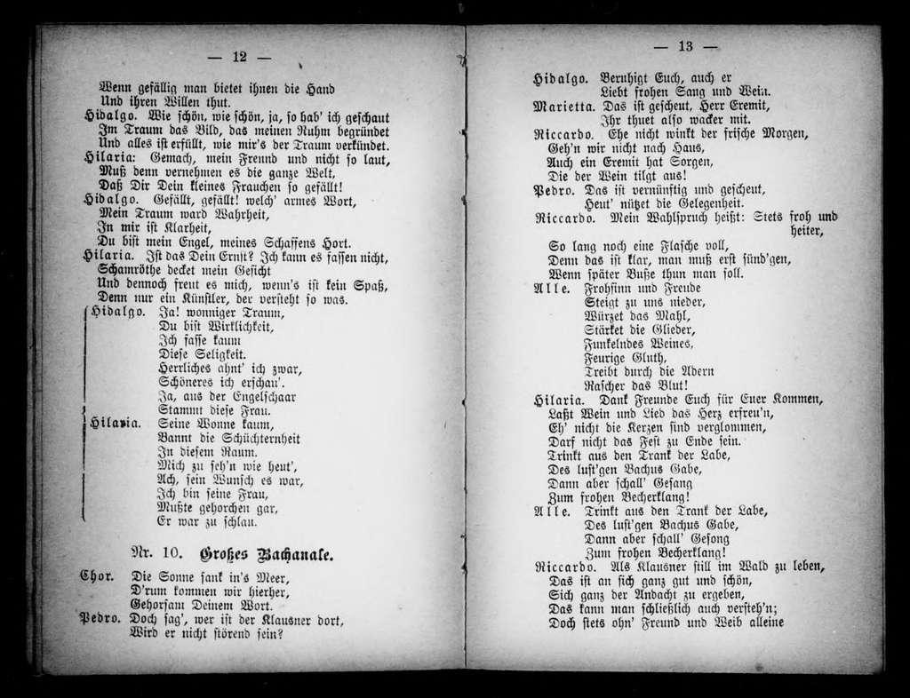 Das Testament des Herzogs komische Operette in 3 Akten