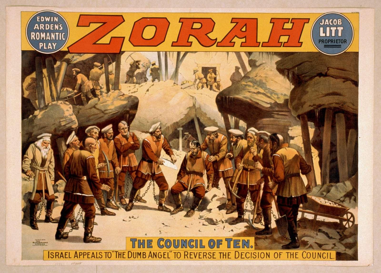 Edwin Arden's romantic play, Zorah