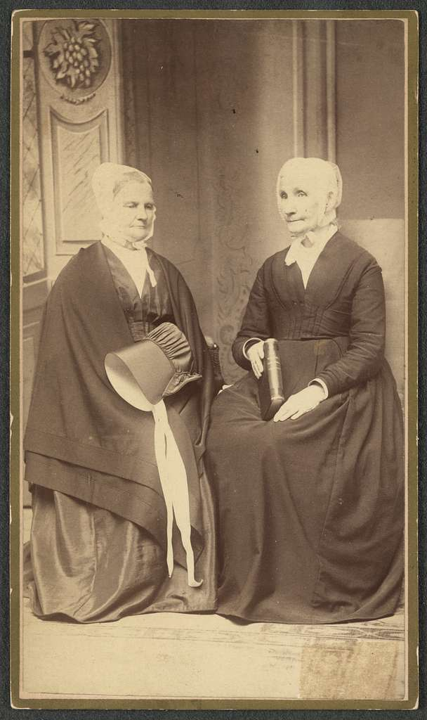 Elizabeth L. Comstock, Union Springs, N.Y., and Laura S. Heaviland (Chicago Suburban), Englewood, Ills.