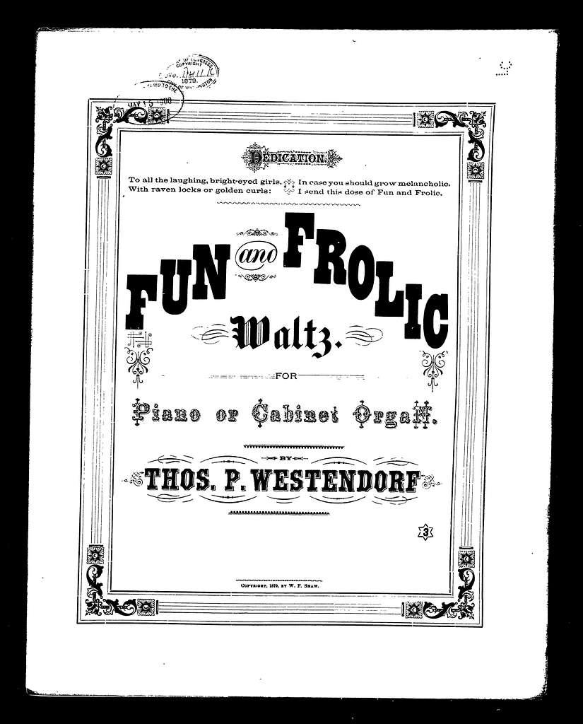 Fun and frolic