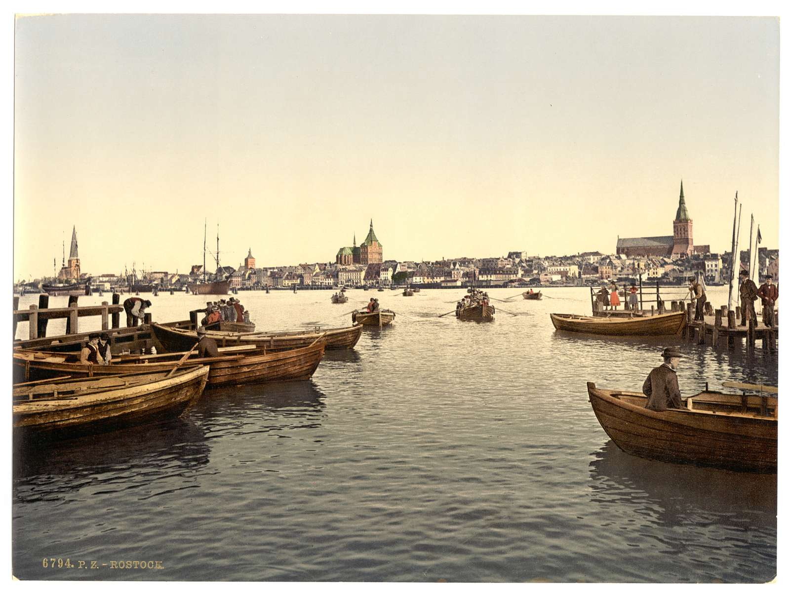 [General view, Rostock, Mecklenburg-Schwern, Germany]