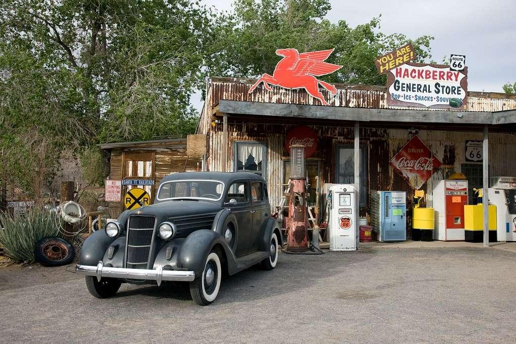 Hackberry General Store, Route 66, Hackberry, Arizona