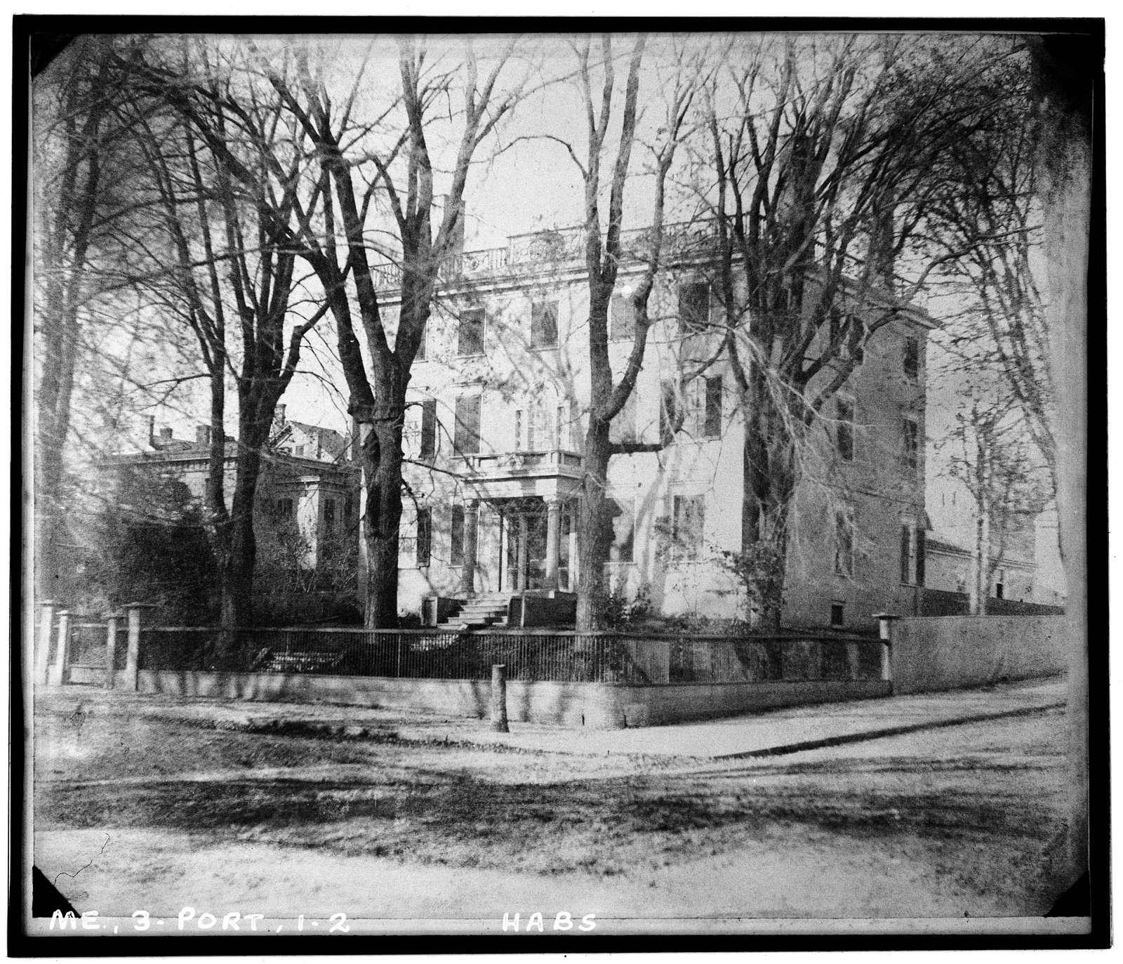 John Mussey House, 91 Danforth Street Northwest, Portland, Cumberland County, ME