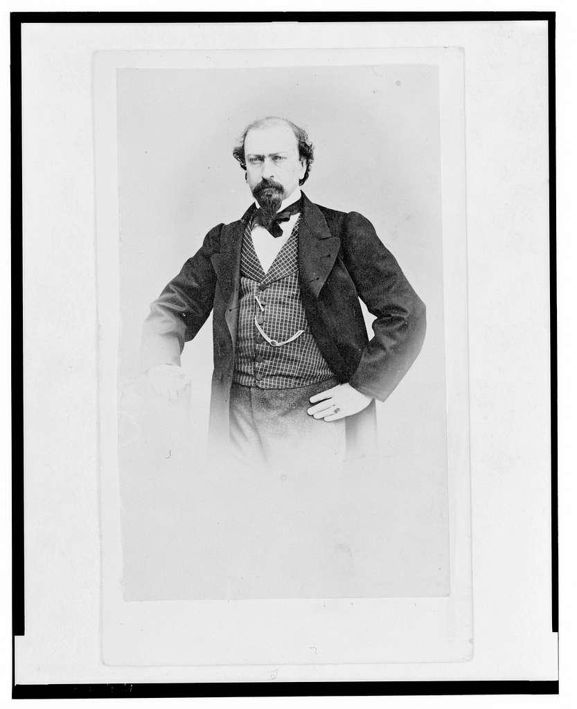 [Juan José Baz, half-length portrait, standing, facing front]