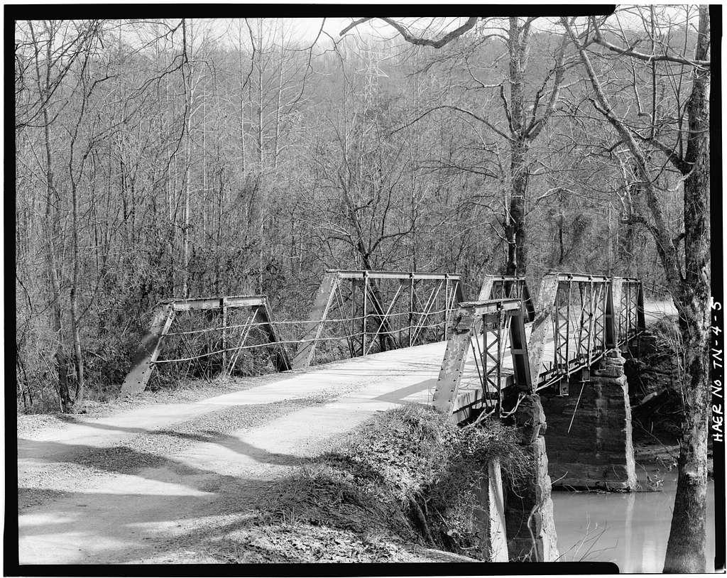 McPherson Bridge, Spanning Candies Creek at County Road A165, Eureka, Bradley County, TN