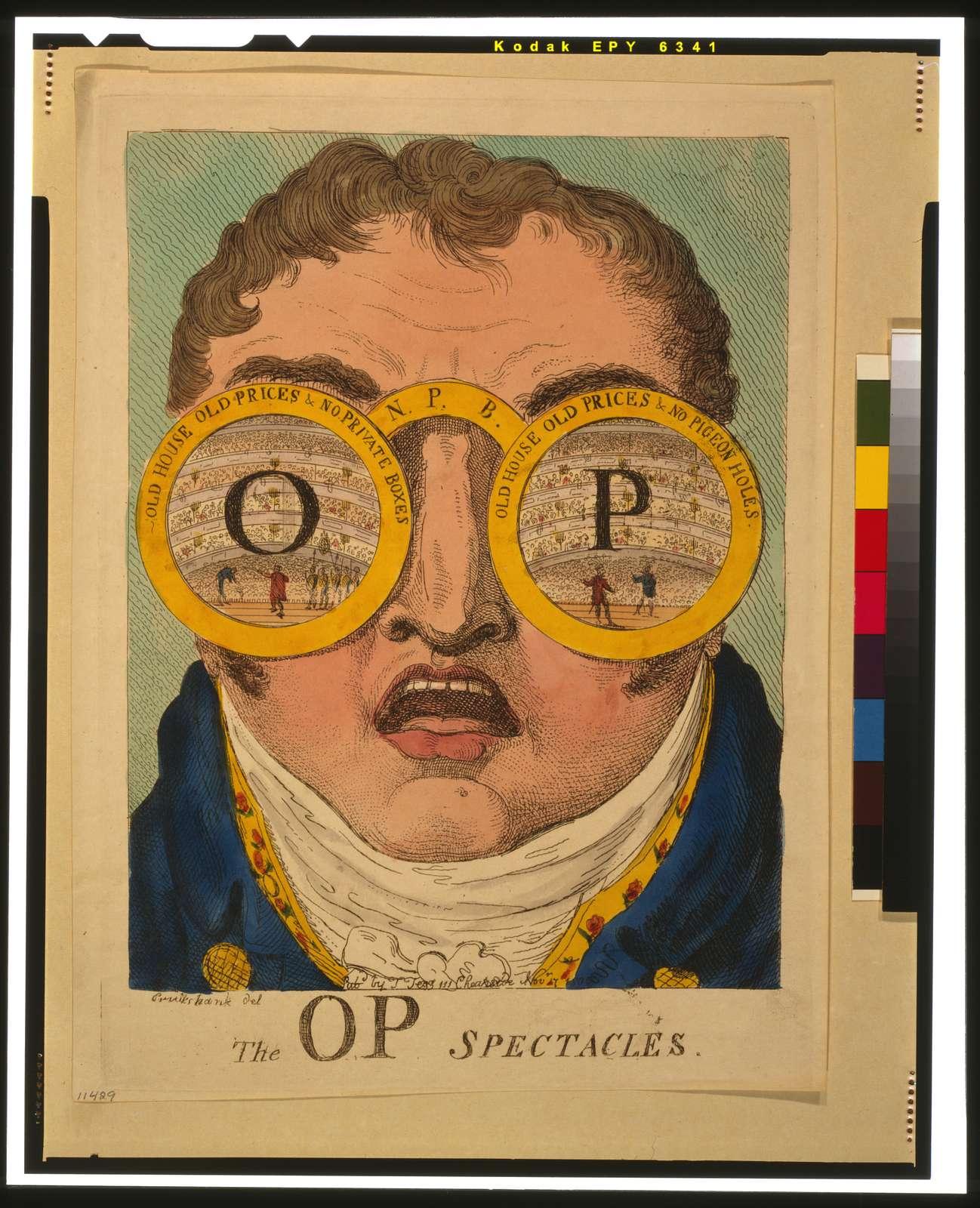 The OP spectacles / Cruikshank del.