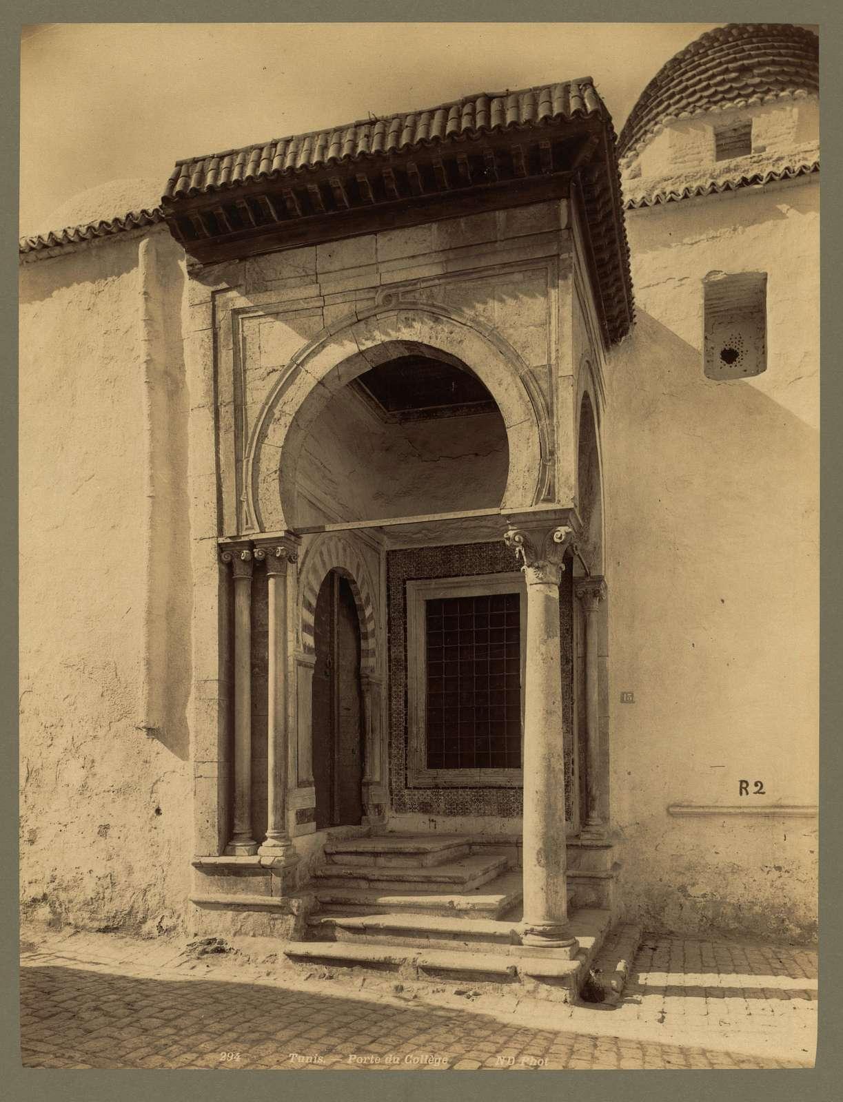 Tunis. Porte du Collège / ND Phot.