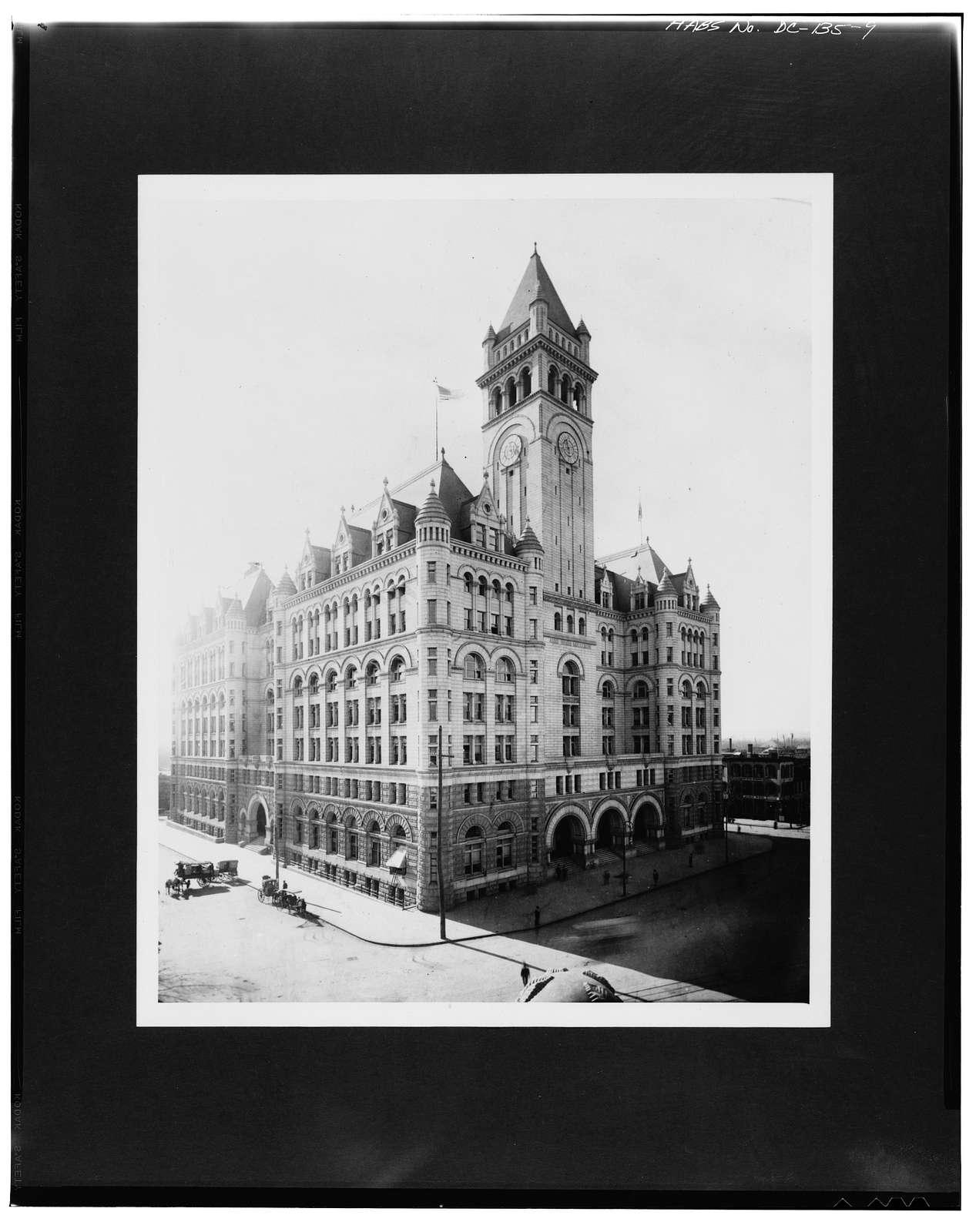 U.S. Post Office Department, 1100 Pennsylvania Avenue Northwest, Washington, District of Columbia, DC