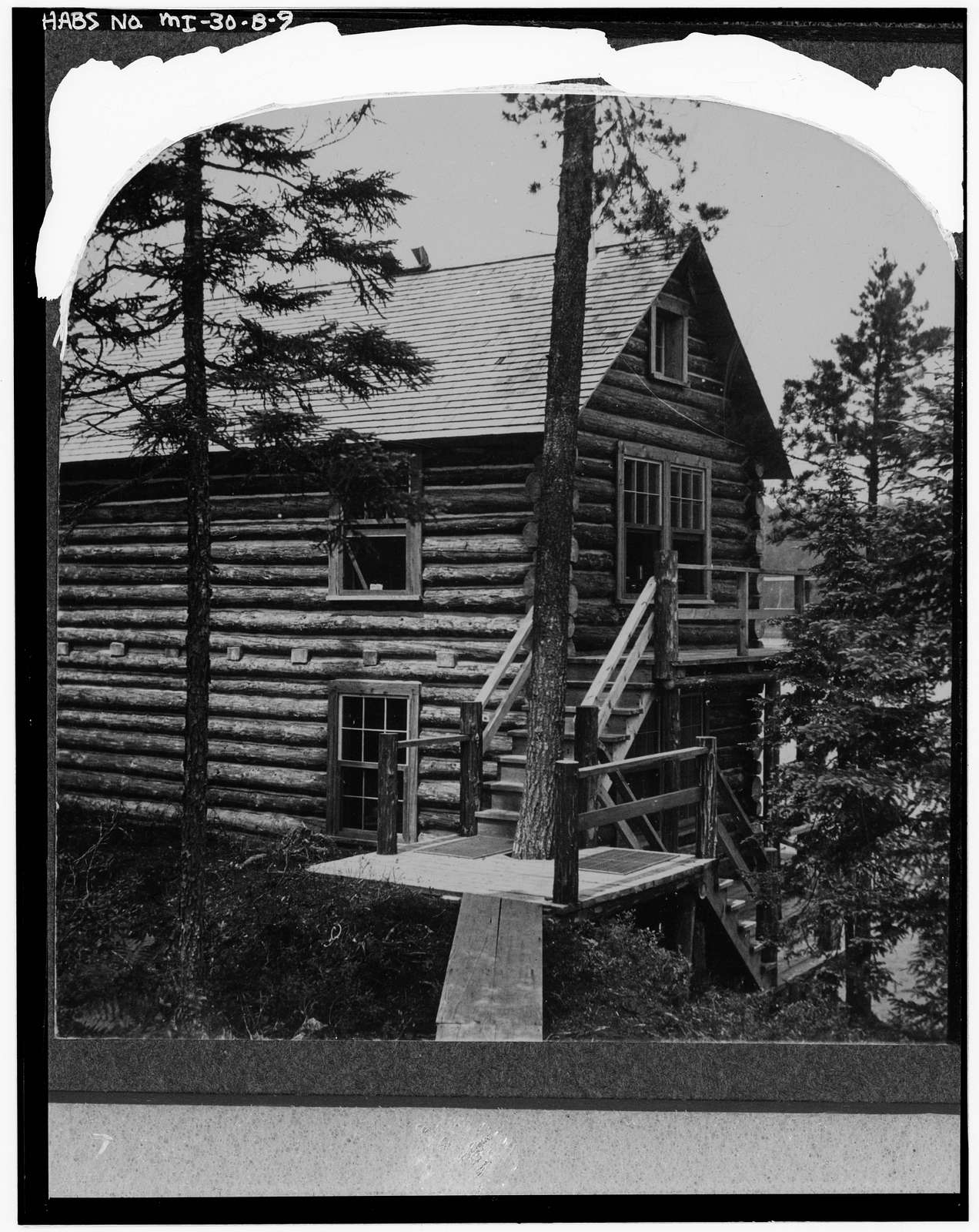 White Deer Lake Camp, Birch Cabin, Cyrus H. McCormick Experimental Forest, Champion, Marquette County, MI