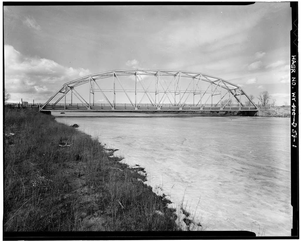 Wind River Bridge, State Highway 132, Ethete, Fremont County, WY