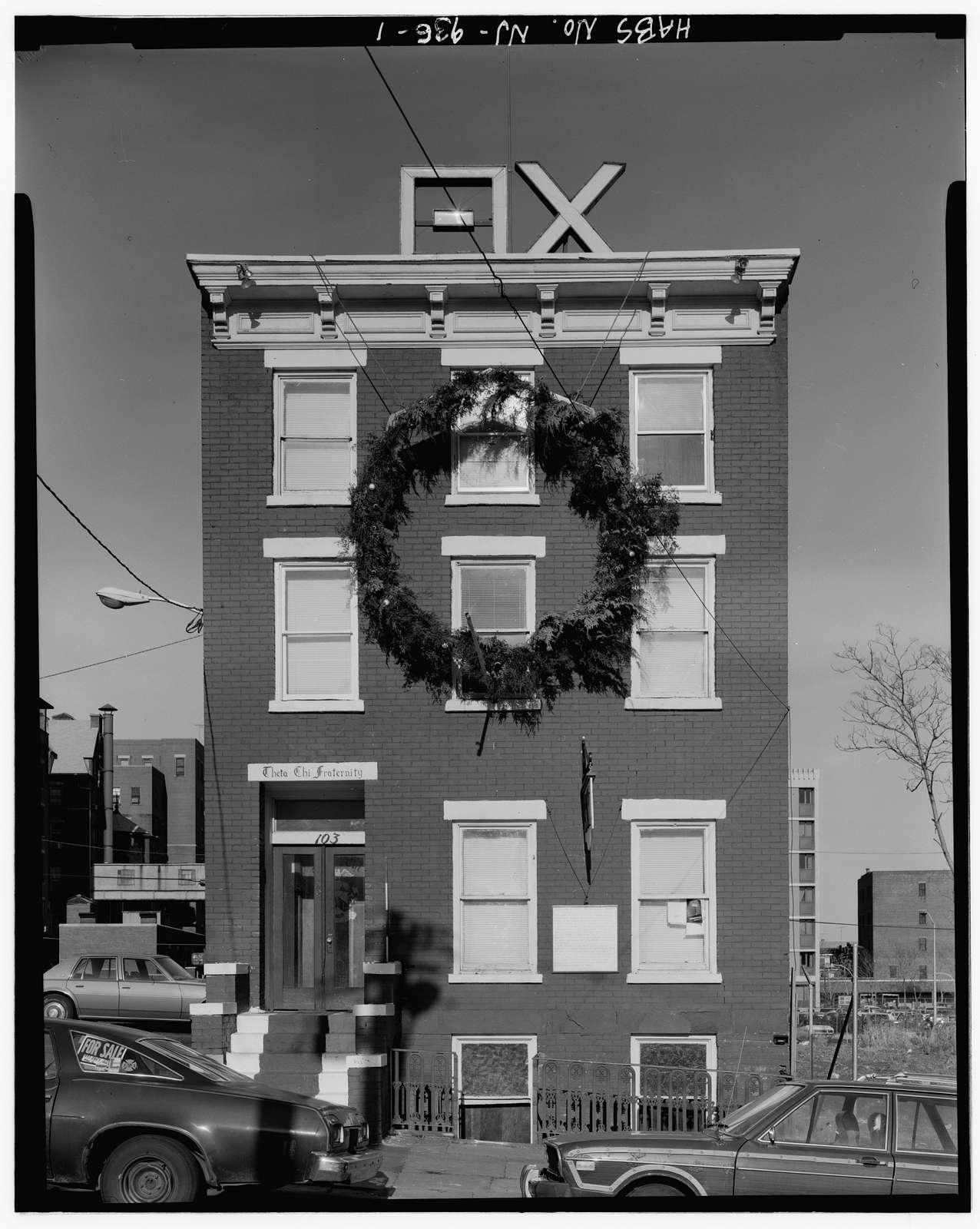 103 Bleeker Street (House), Newark, Essex County, NJ
