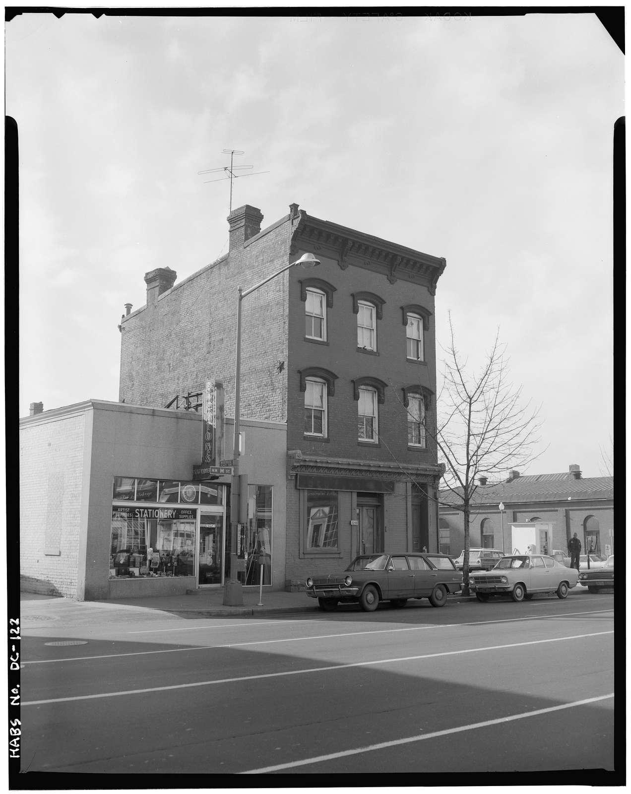 Anthony Reintzel Building, 3258 M Street Northwest, Washington, District of Columbia, DC