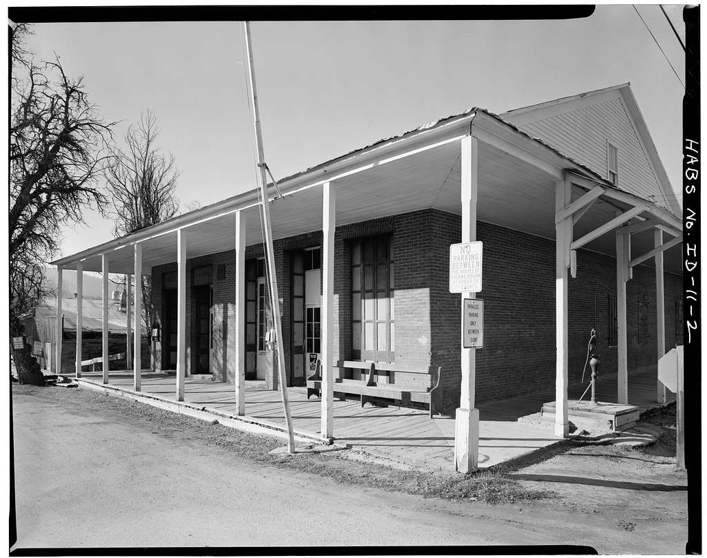 Boise County Courthouse, Northeast corner, Main & Wall Streets, Idaho City, Boise County, ID