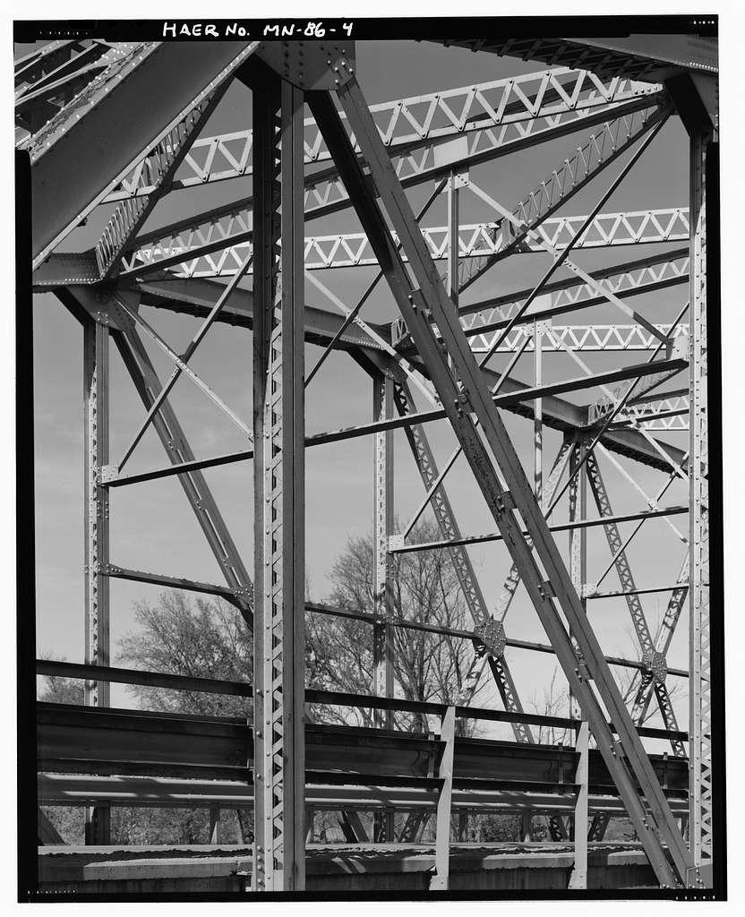 Bridge 4666, Minnesota Trunk Highway 19 spanning Minnesota River, North Redwood, Redwood County, MN