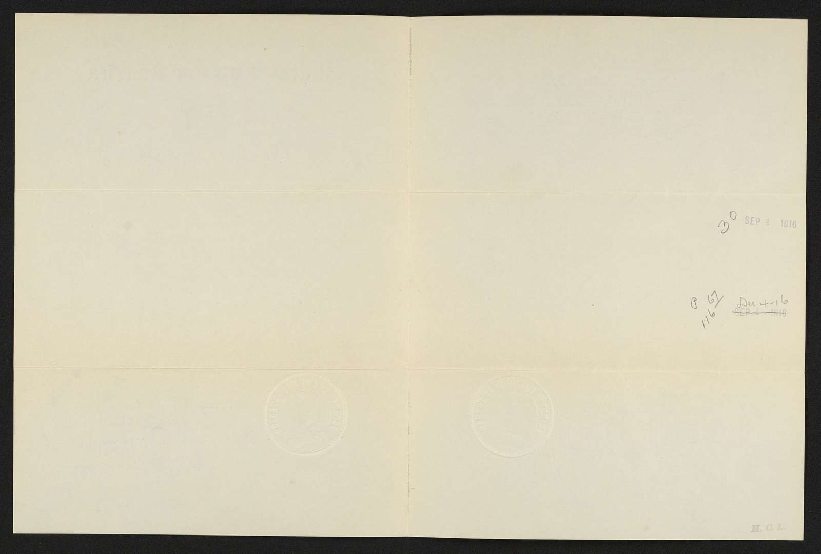 Charles Wellington Reed Papers: Citations and military papers,  1865-1916