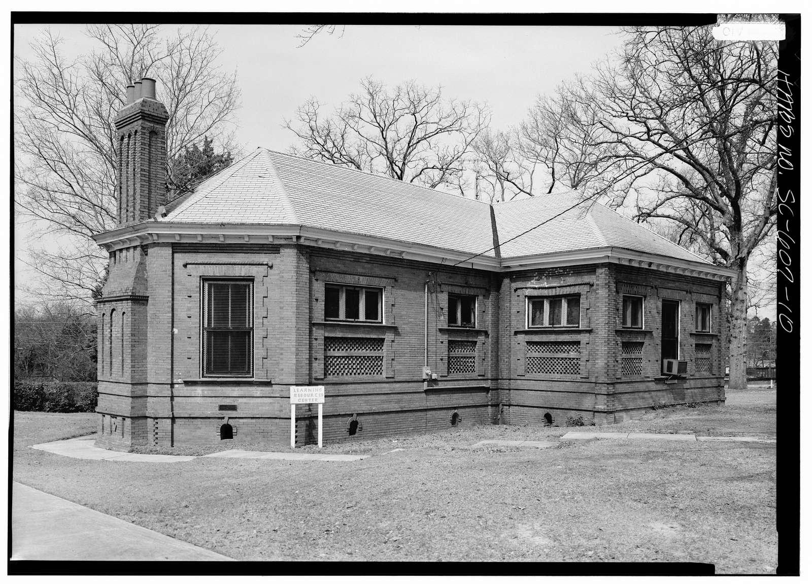 Claflin College, Lee Library, College Avenue, Orangeburg, Orangeburg County, SC